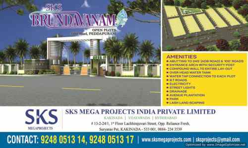 Residential Plots for sale