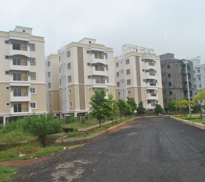 Bridge County Flats and independent houses for sale in Diwancheruvu