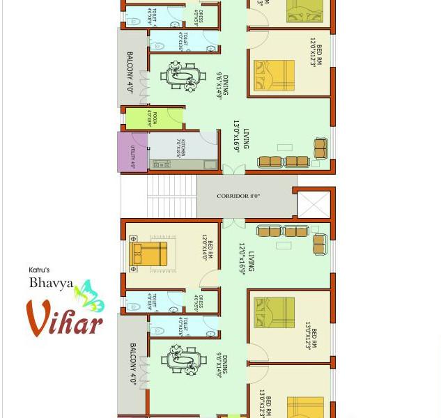 Bhavya Vihar 3 BHK Residential Flats For Sale In Prakash nagar